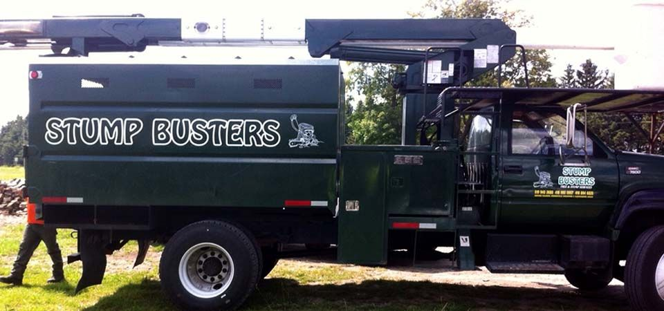 Stump Busters truck